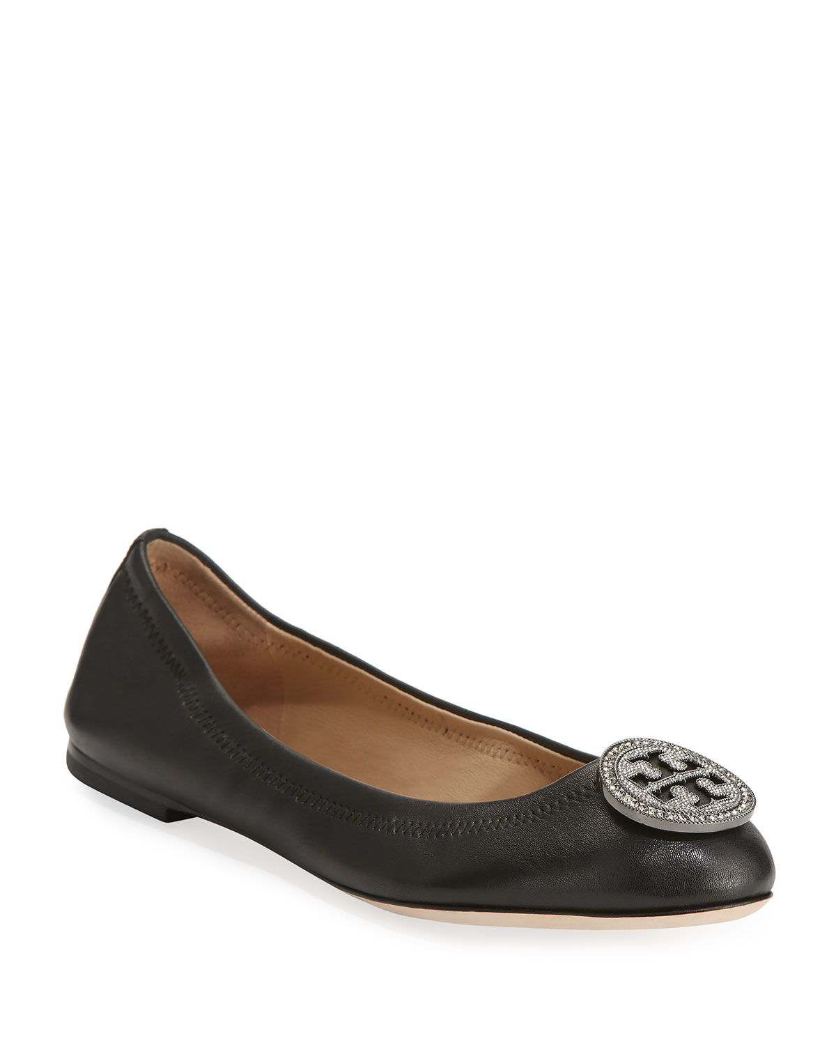 dce34f75942f Tory Burch Liana Embellished Ballet Flats