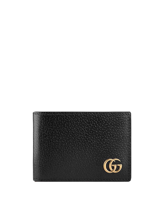 35681ba9c91a Gucci GG Marmont Leather Bi-Fold Wallet | Neiman Marcus