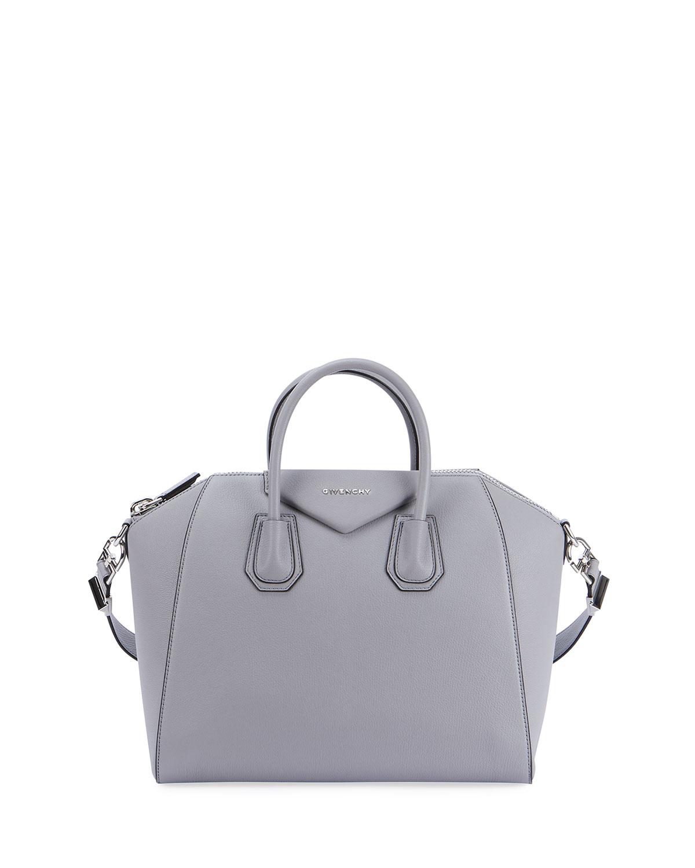 9c7f21542b Givenchy Antigona Medium Leather Satchel Bag | Neiman Marcus