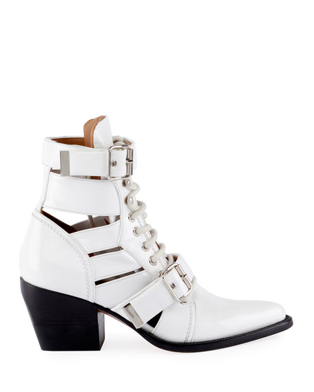 Image 3 of 4: Rylee Lace-Up Box Calf Boot
