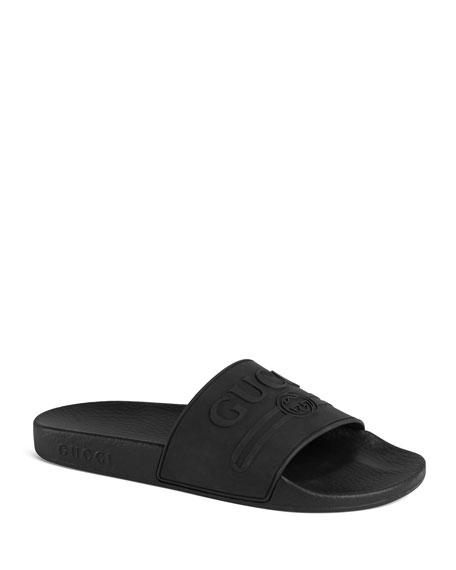 2a98d56684b Gucci Pursuit Gucci Rubber Slide