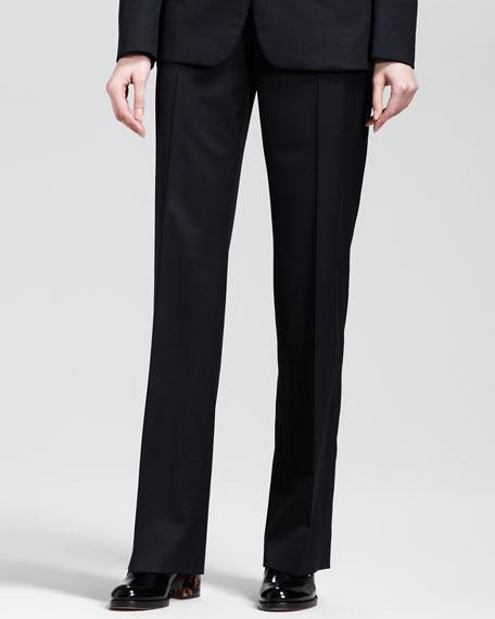 Stella McCartney Flat-Front Skinny Pants