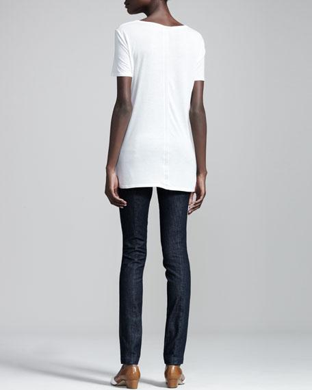Stretch-Denim Leggings