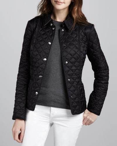 Burberry Brit Heritage Quilted Jacket