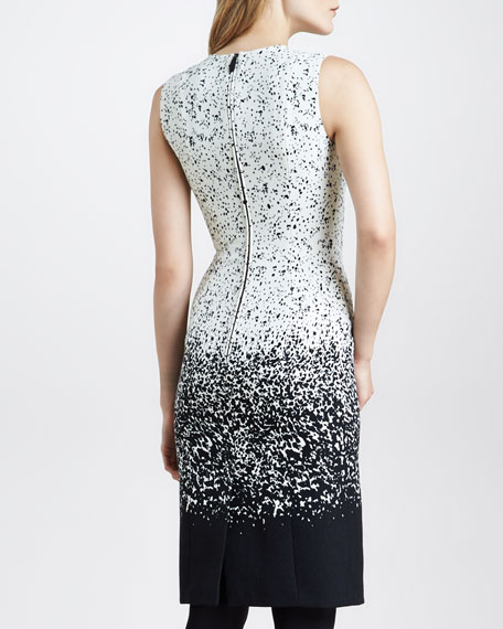 Degrade Sheath Dress