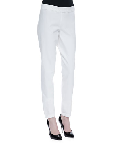 THE ROW Classic Denim Legging Pants