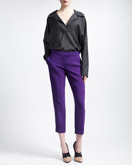 Cropped Slim Pants