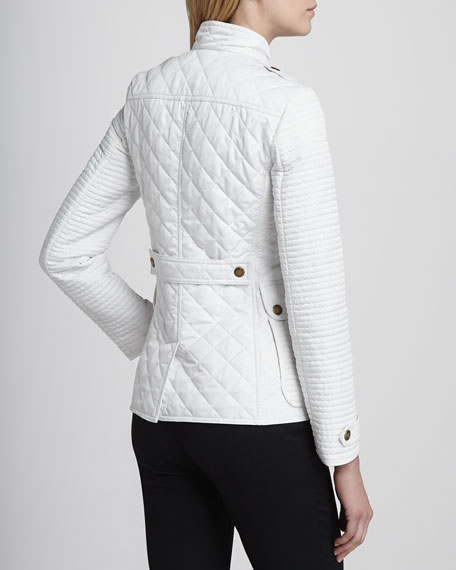Quilted/Puffed Nylon Jacket