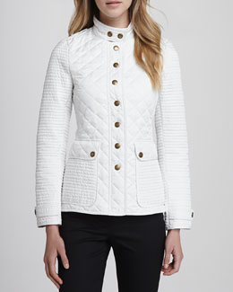 Burberry Brit Quilted/Puffed Nylon Jacket