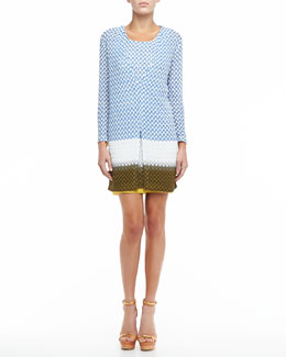 Missoni Colorblock Knit Cardigan & Dress Set
