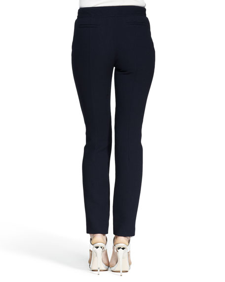 Slim Flannel Pantalon Pants