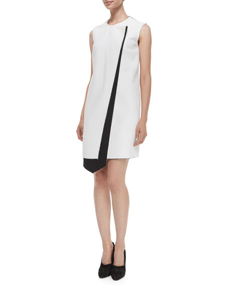 Derek Lam Layer Asymmetric Bicolor Dress