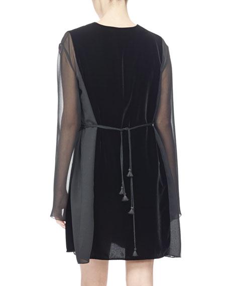 DRS/VELVET VNK DRESS
