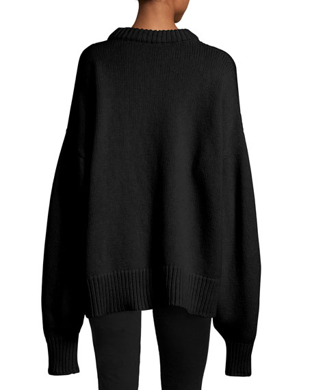 THE ROW Ophelia Knit Drop-Shoulder Sweater