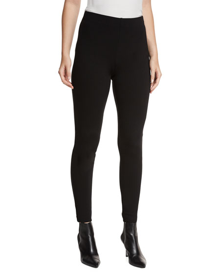 St. John Collection High-Rise Ponte Leggings
