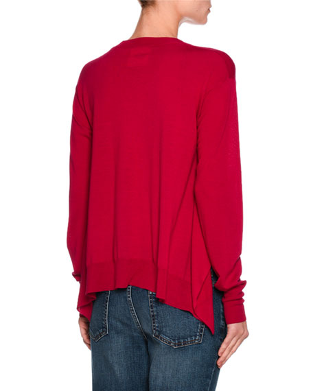Virgin Wool Crewneck Sweater