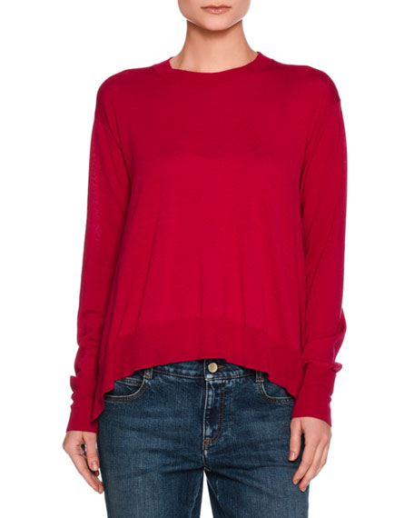 Stella McCartney Virgin Wool Crewneck Sweater