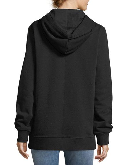 Bambi® Oversized Hoodie, Black/White