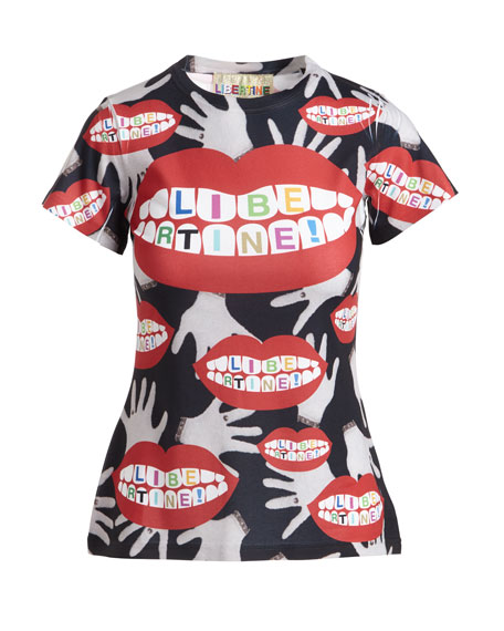 Super Creep Lips & Hands Logo T-Shirt