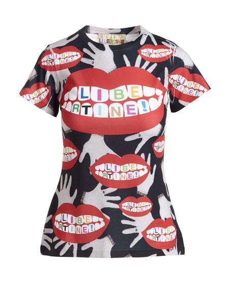 Super Creep Lips & Hands Logo T-Shirt