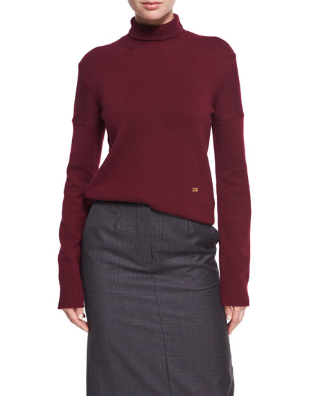 CALVIN KLEIN 205W39NYC 205 Cashmere Turtleneck Sweater