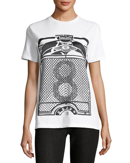 Ralph Lauren Collection Crewneck 8 Graphic-Print T-Shirt