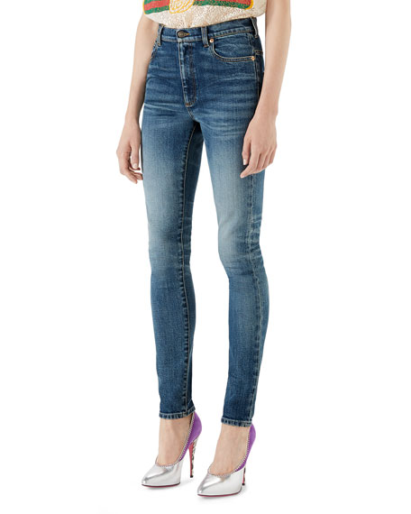 Gucci Denim Skinny Pants and Matching Items