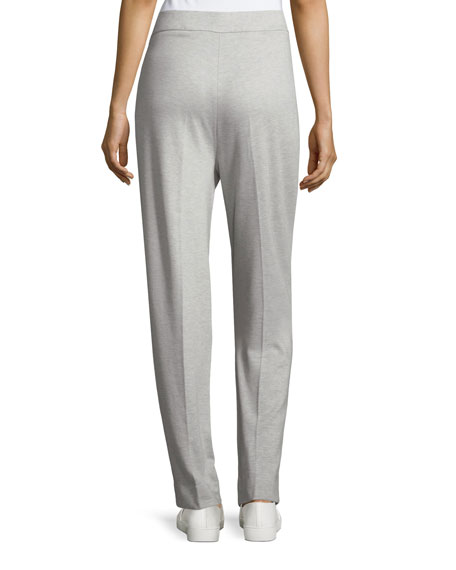 Tsisa Melange Side-Zip Pants