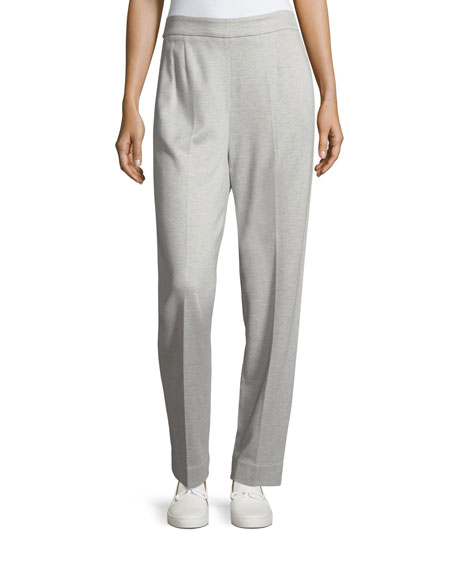 Escada Tsisa Melange Side-Zip Pants