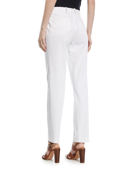 Ralph Lauren Collection Heidi Stretch-Cotton Pants