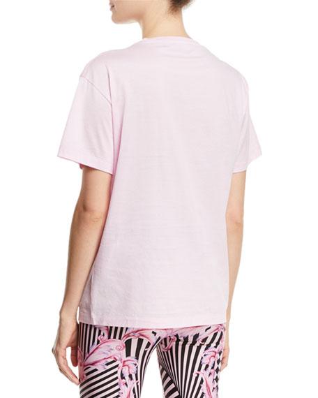 Crewneck Short-Sleeve T-Shirt w/ Logo