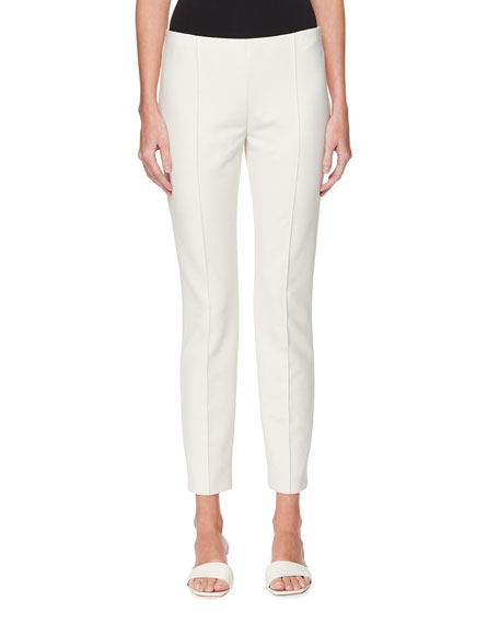 THE ROW Cosso Cotton-Stretch Skinny Pants