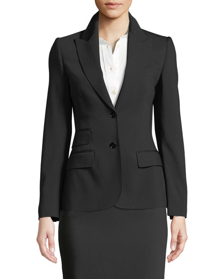 Turlington Two-Button Jacket