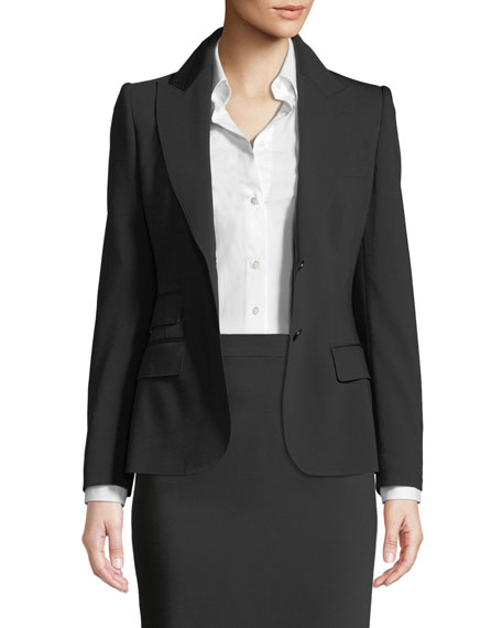 Dolce & Gabbana Turlington Two-Button Jacket and Matching
