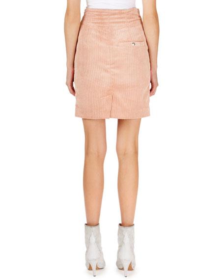 Isabel Marant Corduroy Pencil Mini Skirt