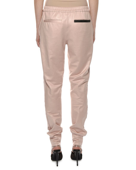 TOM FORD Mid-Rise Glossy Jogger Pants