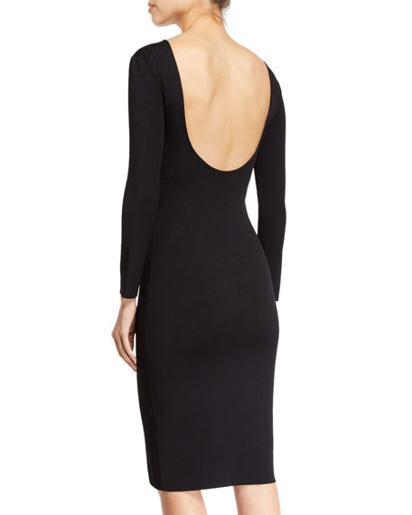 THE ROW Darta Open-Back Bodycon Dress