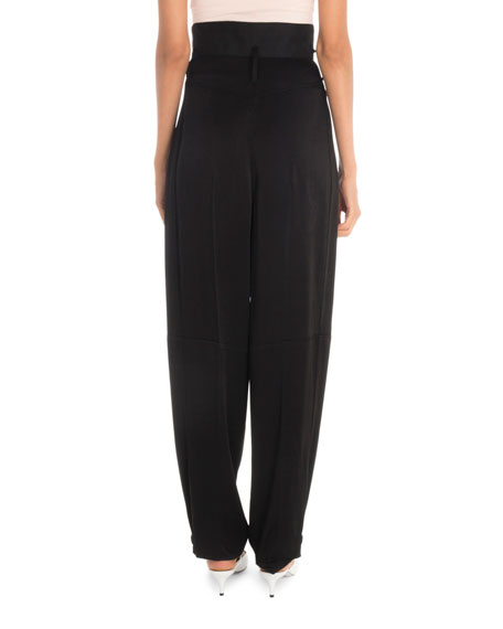 Givenchy High-Waist Baggy Trousers