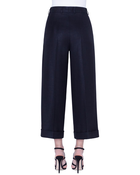 Akris Fira Silk/Cotton Pants