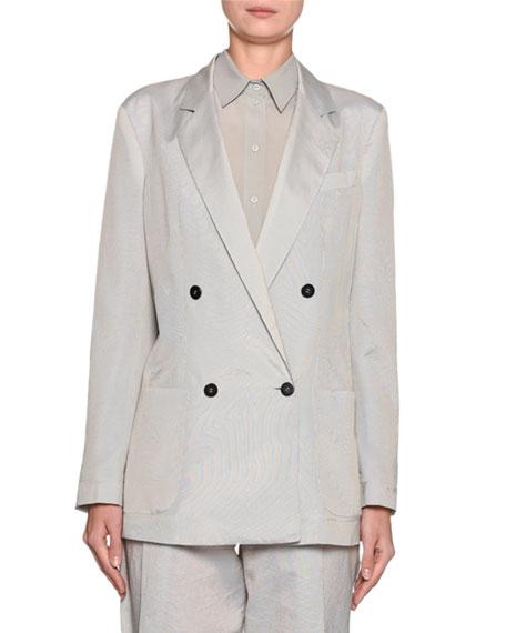 Emporio Armani Striped Seersucker Jacket