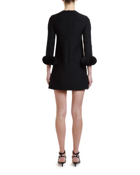 Valentino Scallop-Disk Dress
