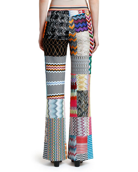Missoni Patchwork Straight-Leg Trousers
