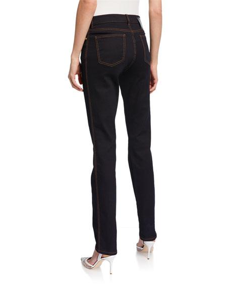 Escada J575 Five-Pocket Slim Jeans