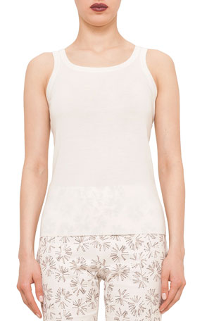Akris punto Knitted Wool Tank