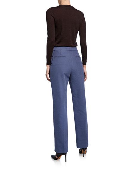 Partow Dalton High-Waist Trousers