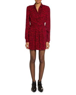 25ad9cc68834 Saint Laurent Women's Clothing at Neiman Marcus