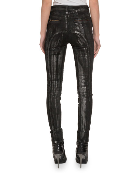 Redemption Cut-Marked Jeans