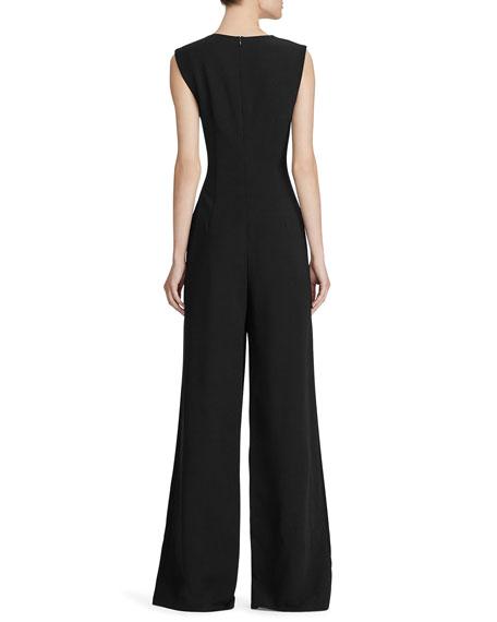 Ralph Lauren Collection Rowen Crepe Jumpsuit