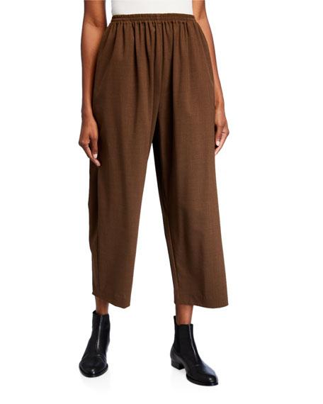 Eskandar Japanese Lightweight Wool Trousers