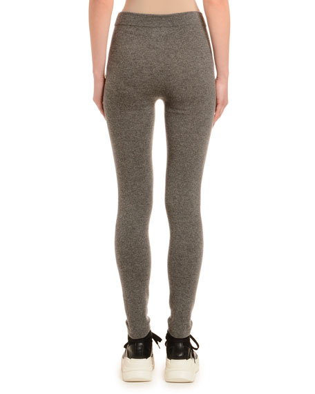 Agnona Cashmere Knit Long Leggings
